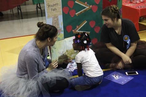 Children learn new ways to enjoy reading