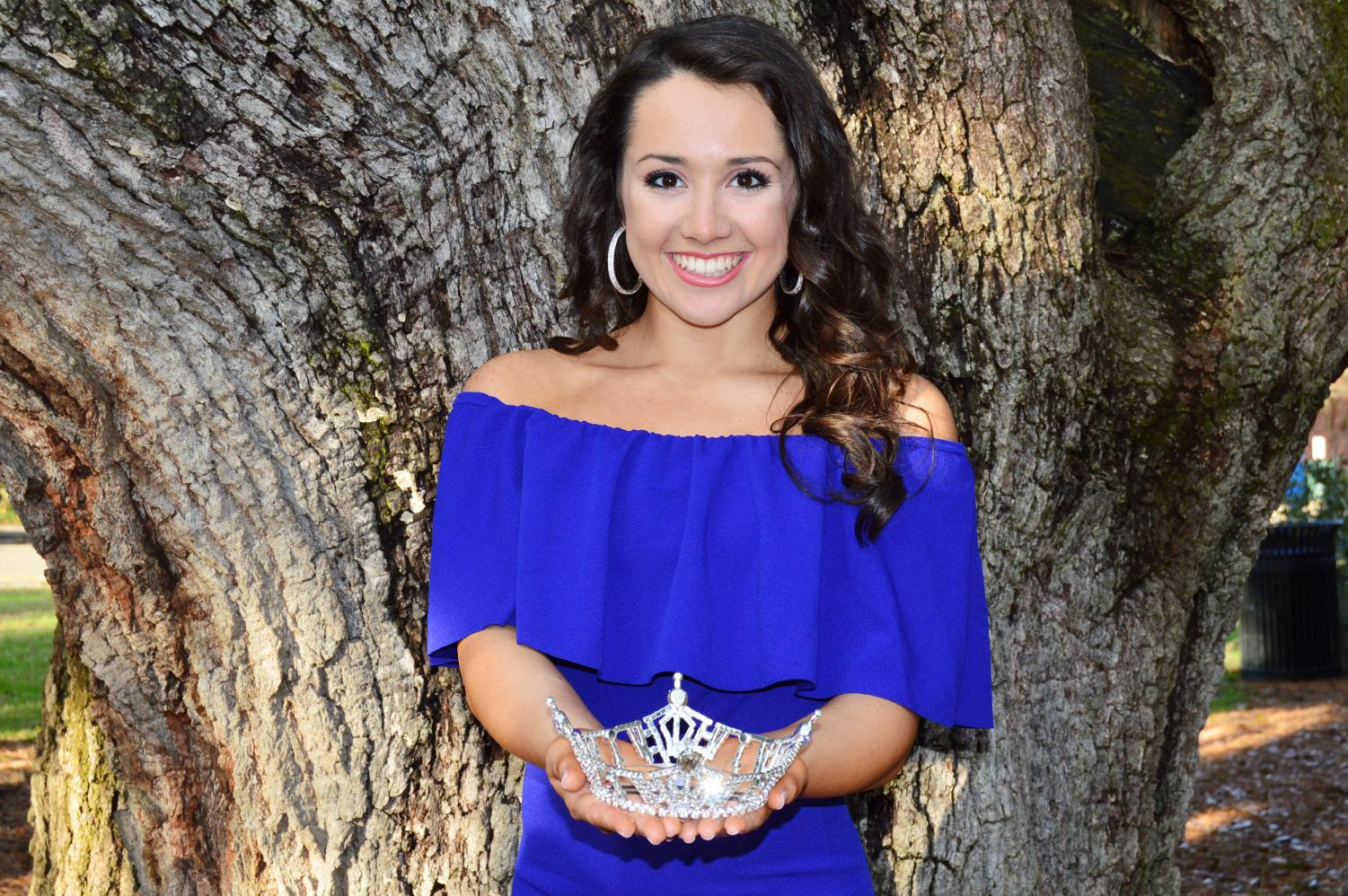 Serving as Miss Southeastern 2018, Alyssa Larose, a junior special education major, acts as an ambassador for the university.