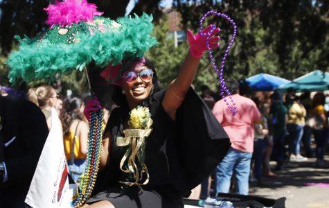 Parade of lion spirit