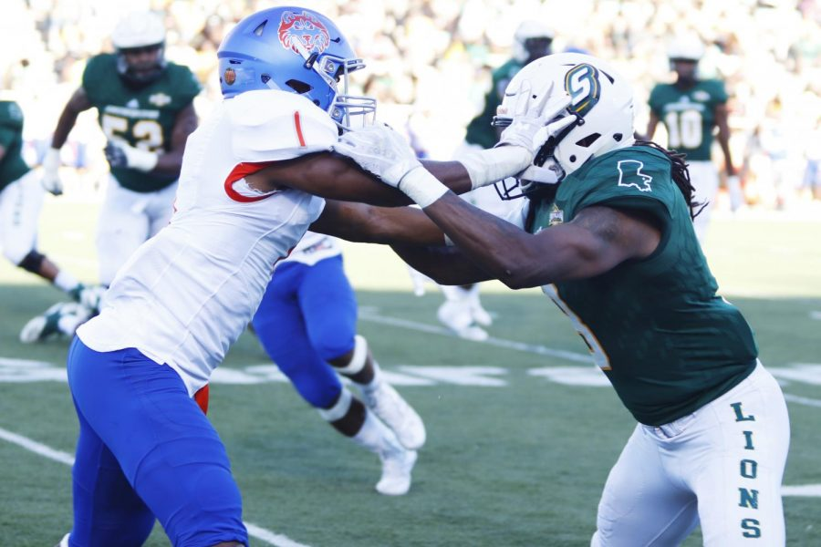 The Lions faced off against the Houston Baptist University Huskies for the Homecoming Game and emerged victorious 62-52. The game tied for most total scored points in program history. The Homecoming Game can reunite former student-athletes.