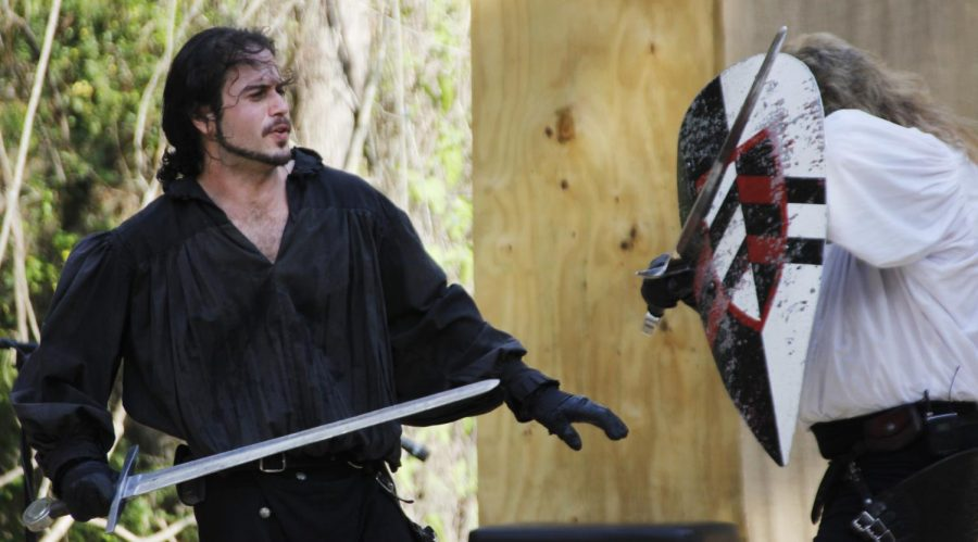 This year, the Louisiana Renaissance Festival will hold activities with themes such as Mask Weekend and Veterans Day among others. The festival features educational entertainment like the above show in the Village of Albright in the 16th century.