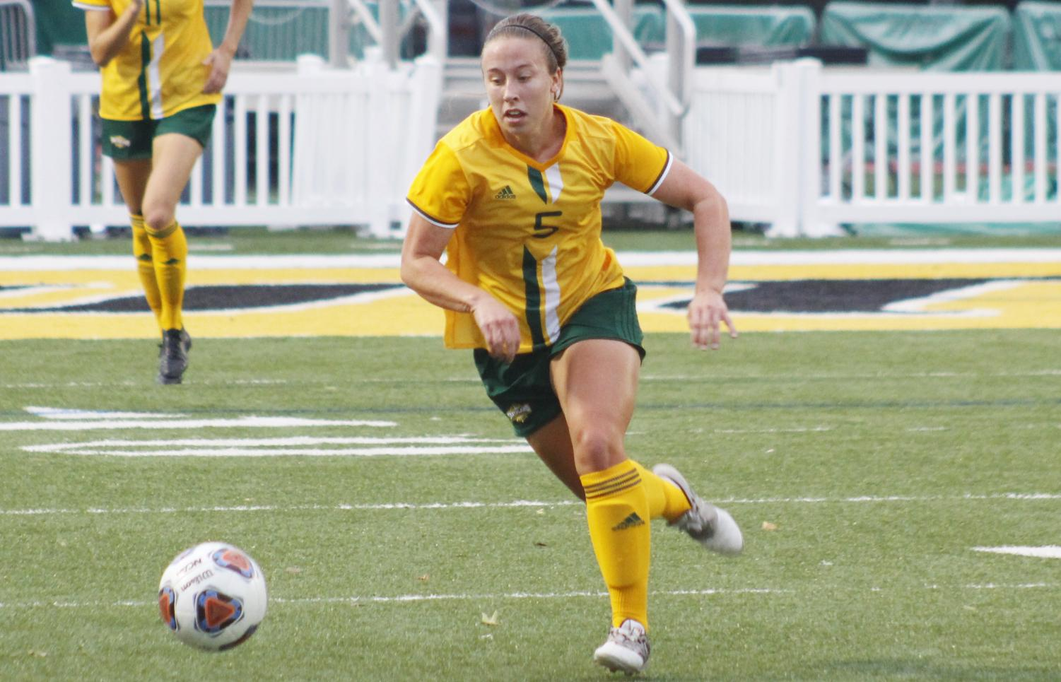 Kim Porche, a 2017 senior defender, was a part of the soccer team, which has several players with nicknames.