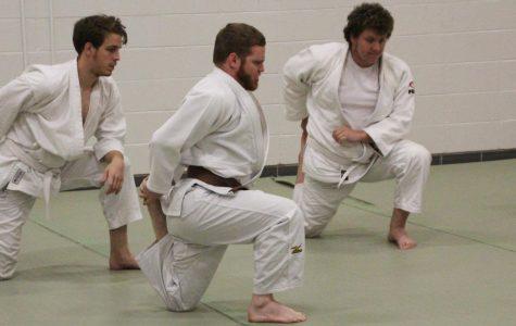 The university judo club