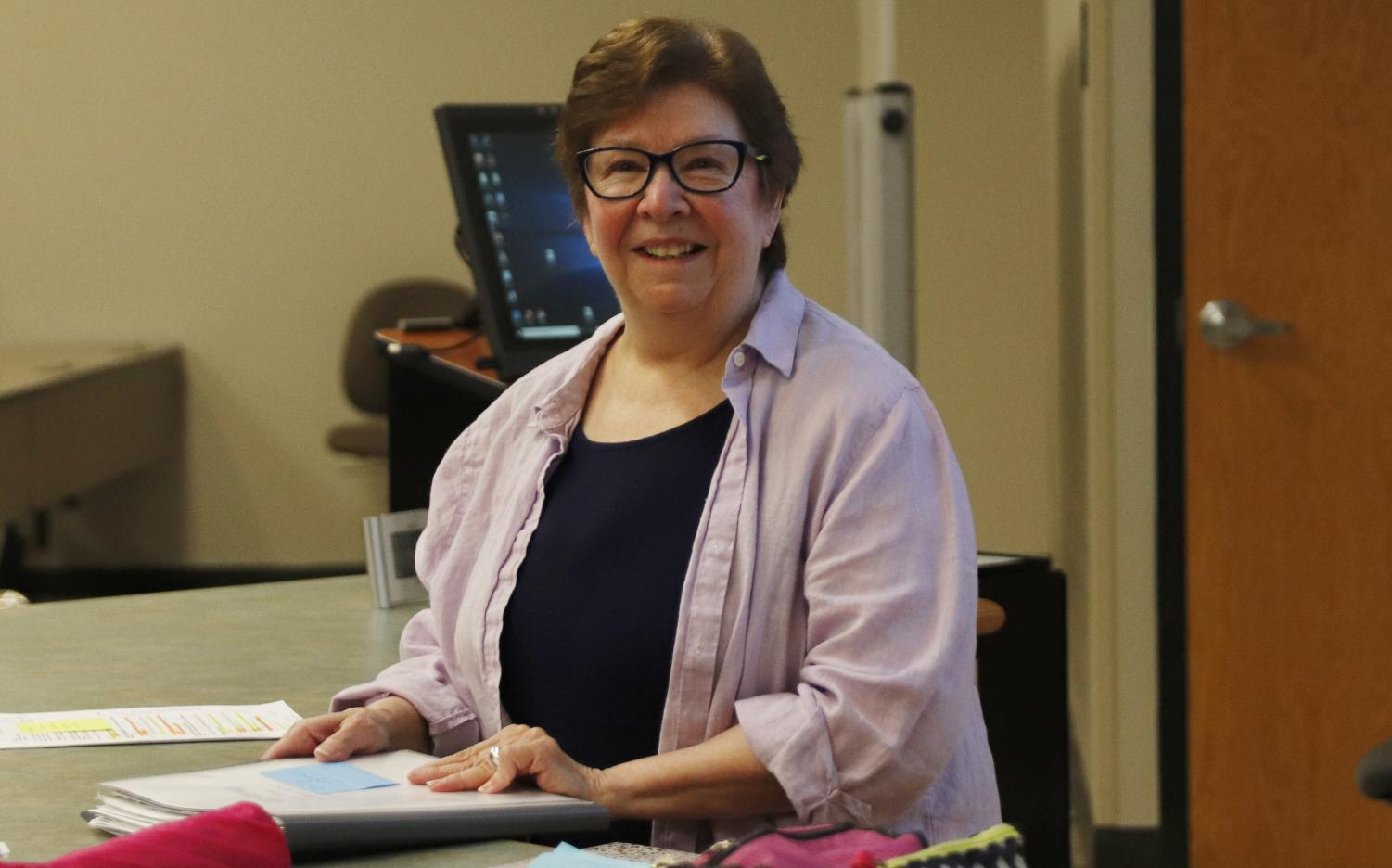 Dr. Irene Nero, associate professor of history, feels that her research and teaching compliment each other.
