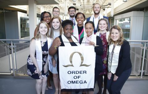 Recognizing outstanding Greek life students