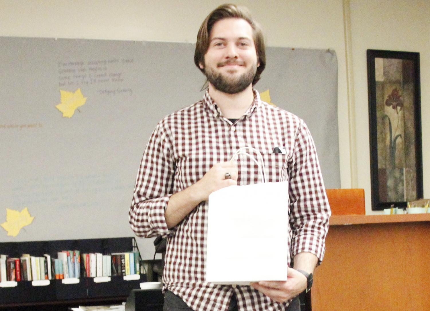 "Alumnus Trenton Coyle received recognition for his piece ""Highway Song"" by the Manchac Review in 2016. Coyle co-founded the Southeastern Christian Association during his time at the university."