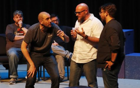 Improvisational comedy enlivens a memory