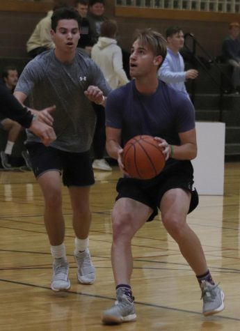 Fraternity competition hits the court