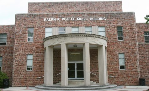 Ralph R. Pottle and his building