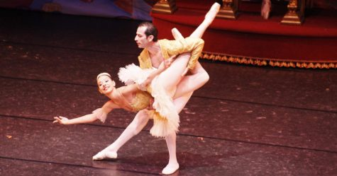The Hammond ballet magic on and off stage