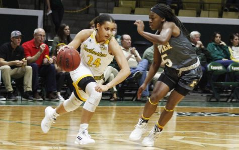 Lady Lions lose win streak at home