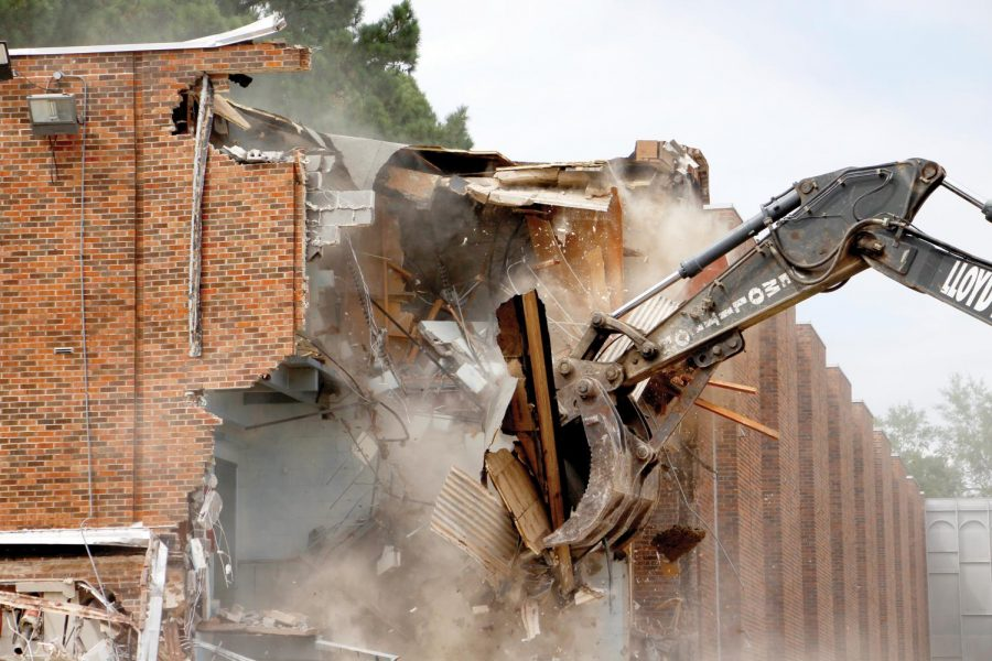 Demolition of Zachary Taylor Hall began in September, 2018, and former residents of the coed residence hall shared their memories of the building.