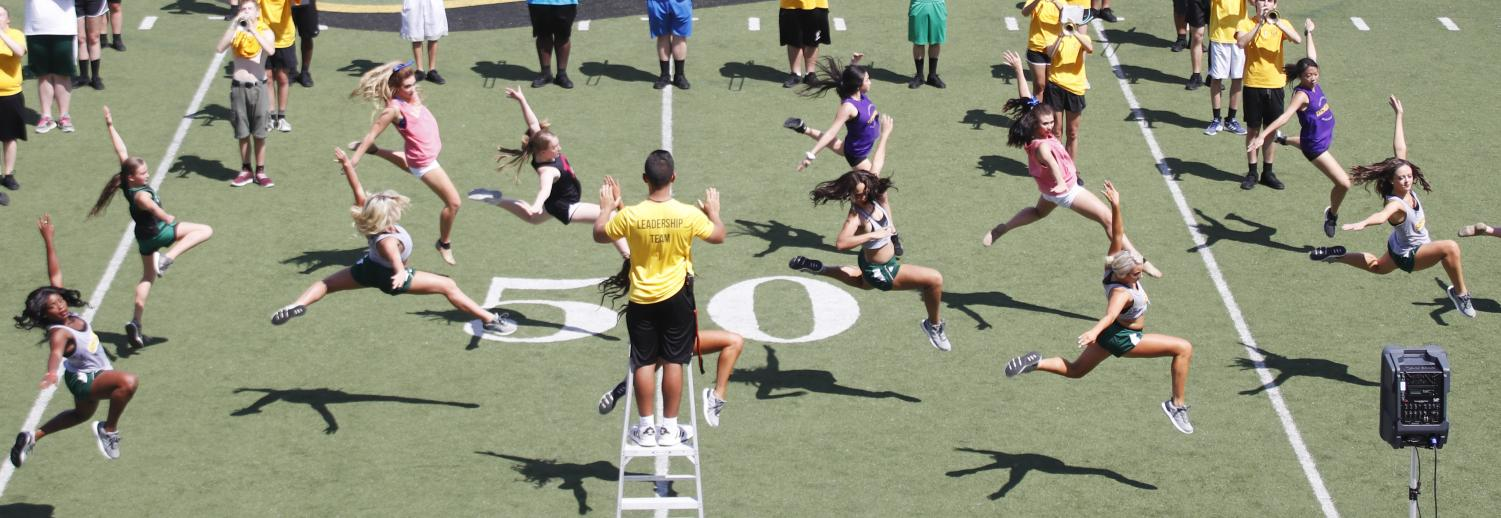 "At ""Band Day"" last semester, the Lionettes and Spirit of the Southland Marching Band and Colorguard taught a halftime routine to high school students for the first football game of the season. The Lionettes performed ""House of the Rising Sun""  as part of the pregame for every home football game."