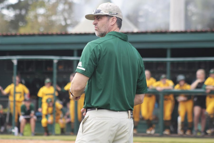 Rick Fremin, softball head coach, brought the Lady Lions from 12th place in the Southland Conference to tied for second place between his first season as the head coach and last season. He coaches his players to be tough and aggressive on the field.