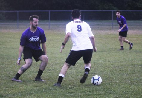 After three games, Delta Tau Delta, Arsenal, and Blue Lagoon were the winning teams. Students who wish to register their own intramural soccer teams can sign up on the university website.