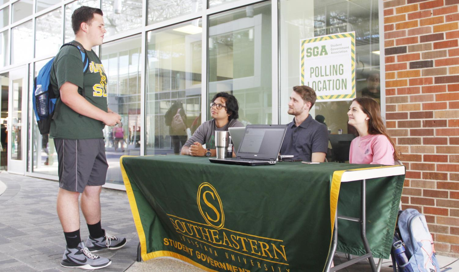 Polls for the Student Government Association's general election will open on April 8. Students can vote either at a polling station or on any device with internet access between then and April 11 at 4:30 p.m.