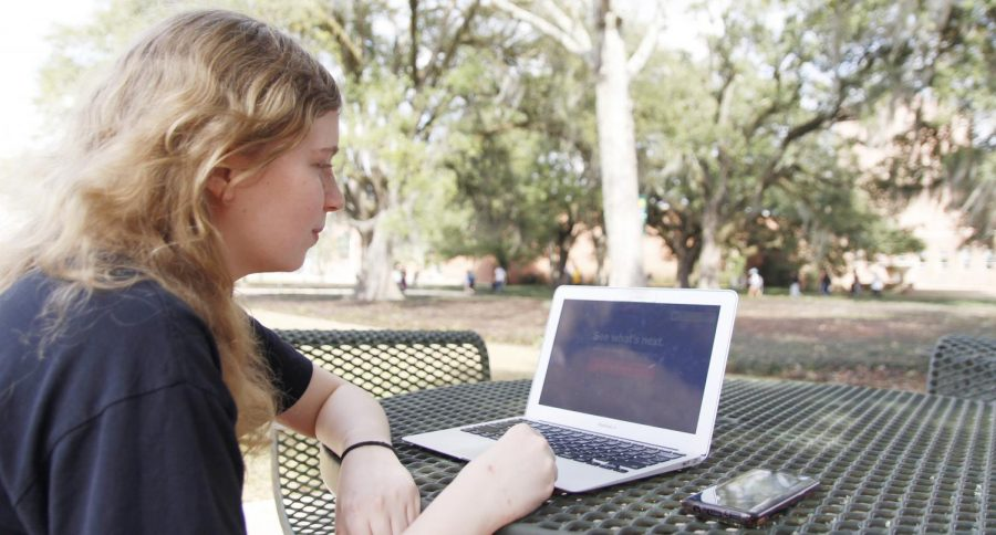 Leigh Moore, a sophomore biological sciences major, likes to view the Netflix app on her laptop or Amazon Fire TV Stick daily.   Even with the influx of streaming and on-demand options in television, Tim Ingram, vice president and general manager of WVUE FOX 8, believes that online streaming will not be the end of television.
