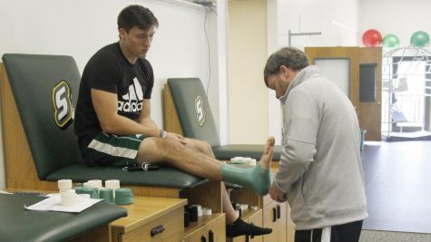 Tape, training and passion in sports medicine