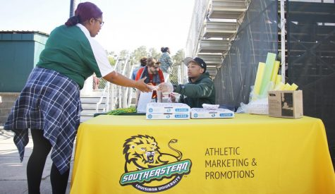 Athletics advertise to fill home game stands