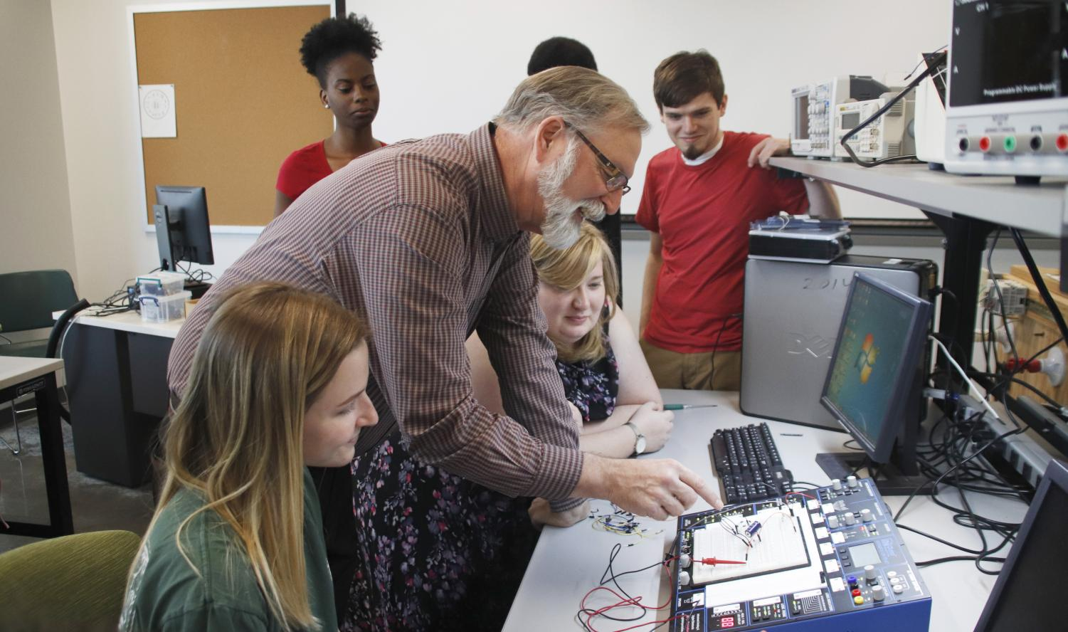 The Department of Industrial and Engineering Technology prepares students for industry through hands-on learning.