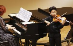 Community Music School displays young talent