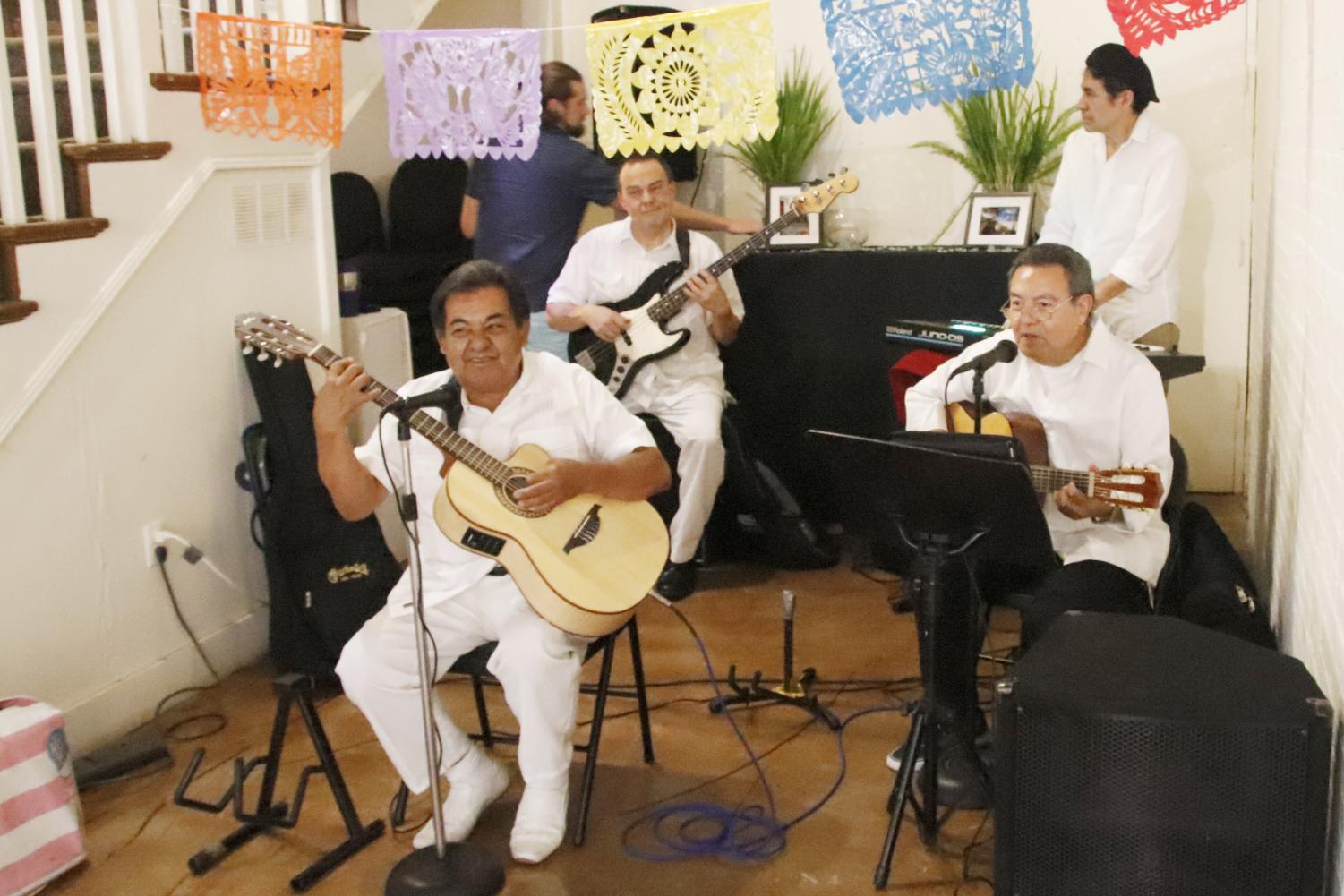 The Hammond Regional Arts Center's annual membership gala featured music from the Julio and Cesar Band. The Cuban-styled night also included a display of cigar box guitars.