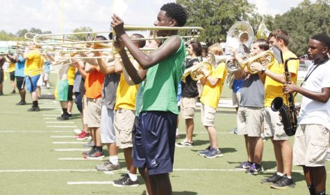 Marching programs enrich student band instructors
