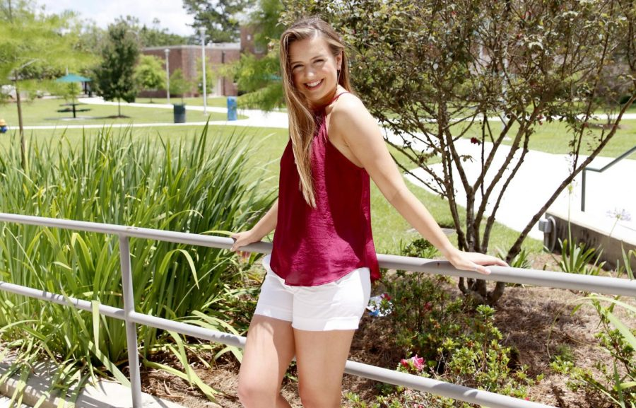 Chelsey Blank, a junior accounting major, is going to West Monroe to compete in the Miss Louisiana Pageant as Miss Southeastern Louisiana University. Blank has been preparing for the pageant since winning her title.