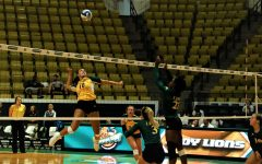 """Green & Gold Match"" prepares Lady Lions for the volleyball season"