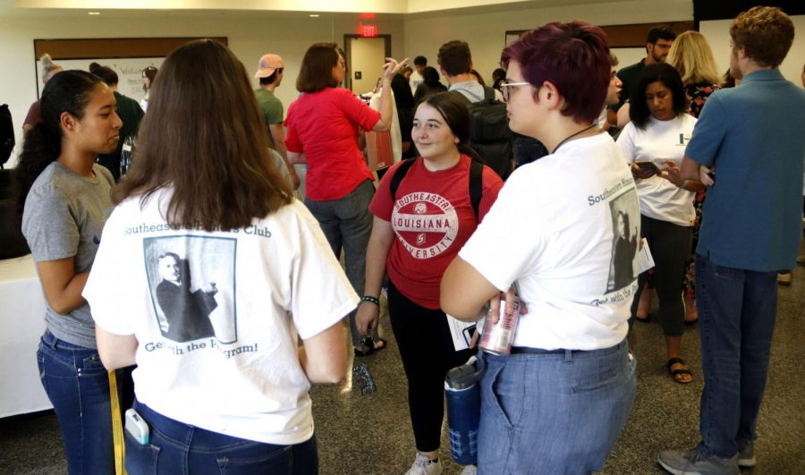 Incoming and returning honors students were invited to the Honors Welcome on Aug. 20, hosted by the Honors and International Initiatives Office. This event allowed students and faculty to gather and network before the start of the Fall 2019 semester.