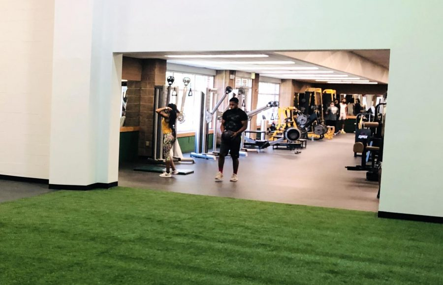 The Pennington Student Activity Center is expanding its workout area for faculty and students. The new space is expected to be unveiled in early December.