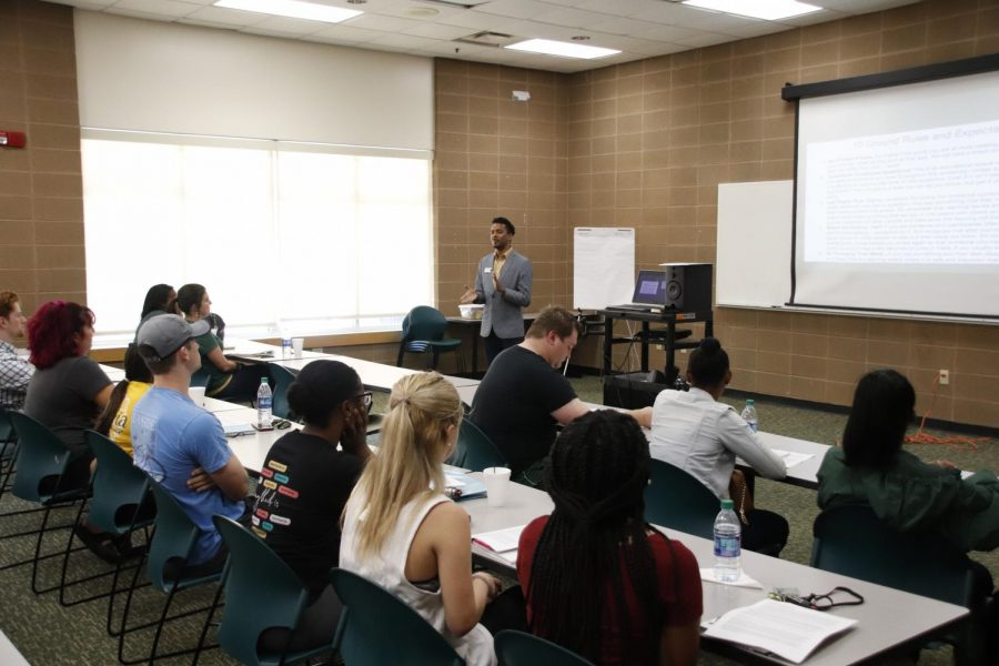 At the Safe Space training students, faculty and staff were taught how to approach people of all different backgrounds.