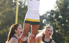 The game through the eyes of a cheerleader