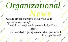 Organizational News – Feb. 11, 2020 issue