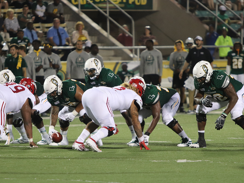 The offensive line has allowed the least amount of sacks in the Southland Conference for the 2019 regular season. The Lions finished the 2019 regular season with 6,416 yards in total offense and managed to have the number one scoring offense in the Southland Conference with 493 points on the season.