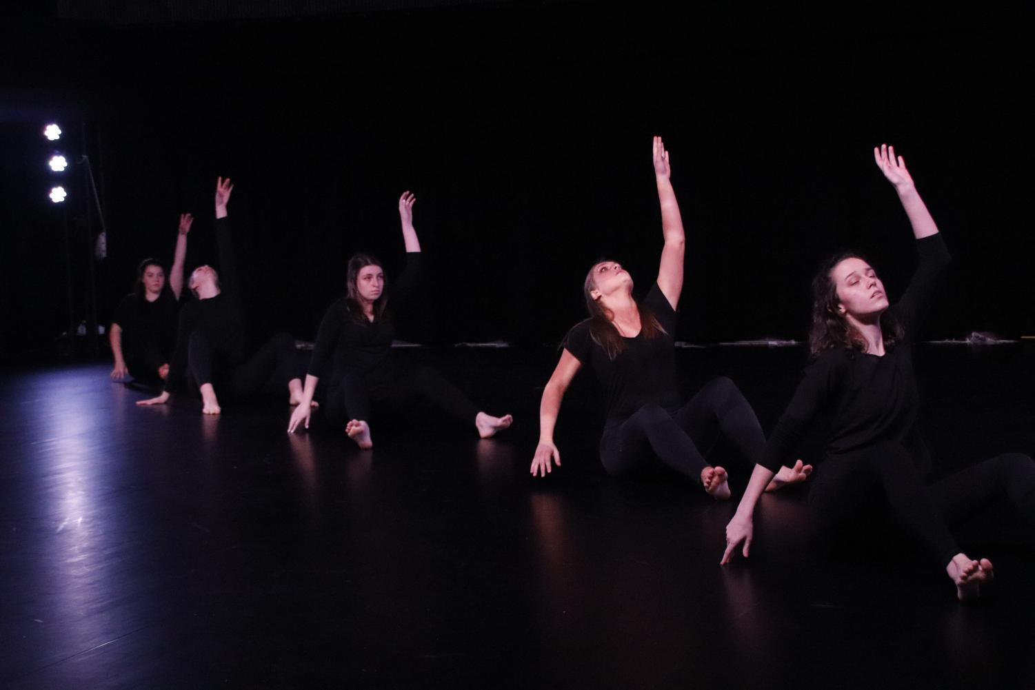 The university's Contemporary Dance Program presented the Emerging Choreographers Project as the first performance held in the newly renovated KHS 153 Dance Studio Theatre. The project consisted of 15 dances choreographed and performed by students.