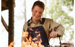 Student blacksmith brings home flaming cash prize