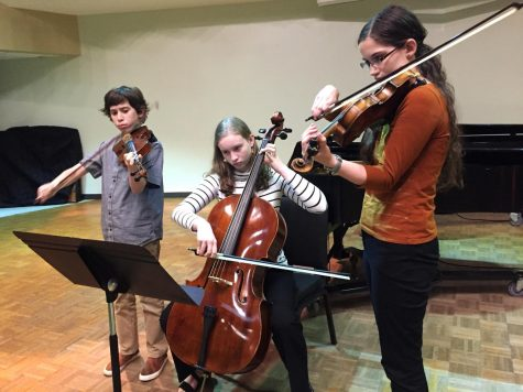Many university faculty have enrolled their children into lessons with the Community Music School to learn how to play a variety of instruments.