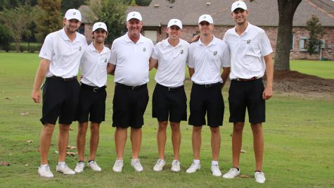 The Southeastern golf team takes a picture after the 2019 David Toms Intercollegiate Tournament in Baton Rouge. The Lions golf team will start their 2020 spring season on Feb. 17 with the LaTour Intercollegiate tournament in Thibodaux.