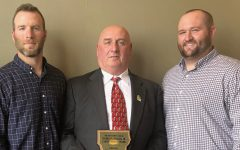 Master locksmith at Physical Plant receives Charles E. Dunbar Award