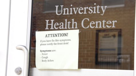 University Health Center is open for students