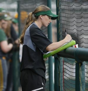 From player to coach: Katie Lacour's career as a Lady Lion outfielder