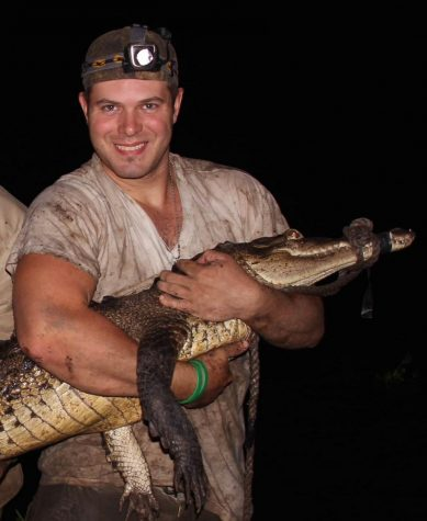 Dr. Chris Murray is a recipient of the 2020 BioOne Ambassador Award for his participation in research of a new species of crocodile from Papua New Guinea.