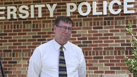 Chief Michael Beckner, head of the Univeristy Police Department.