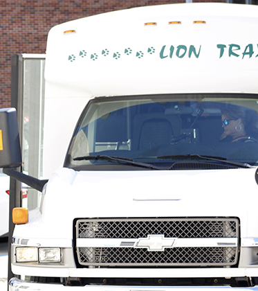 The Lion Traxx has been operating this semester after taking several precautionary measures. The shuttles will only have two active stops this semester.