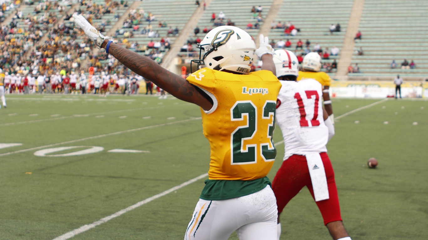 Jordan named to STATS FCS All-American Team - The Lion's Roar