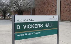 D Vickers Hall is home to the Department of communication and Media Studies. Many students have had to take their public speaking courses online due to the pandemic.