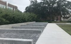 The NPHC's Greek Plaza is located in the Student Union Park. It is meant to honor Black Greek letter organizations on campus.