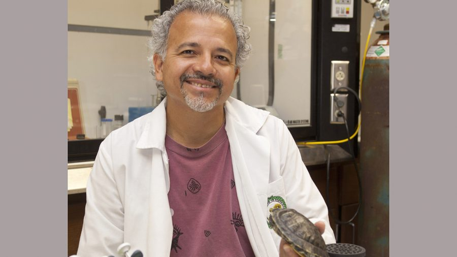 Roldan Valverde, a professor of biology, recently became a Fullbright scholar. It has been a dream of his for many years to receive this distinction.