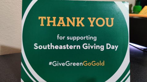 Southeastern Giving Day was held on Oct. 21. Groups that received the most money or had the highest number of donors received an extra prize from the Southeastern Foundation.
